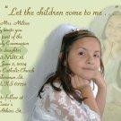 Multi Photo in Mint Green Photo Communion Invitations & Confirmation