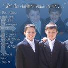 Multi Photo in Dark Blue Photo Communion Invitations & Confirmation