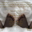 African American Twins Baby Shower Invitations - Baby Feet Optional Photo