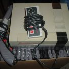 Nintendo NES System WORKS FINE + controller + gun + 22 GAMES + hookups FOR SALE