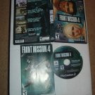 Front Mission 4 (PS2) COMPLETE IN CASE Squaresoft/Square Enix MECH RPG game for sale