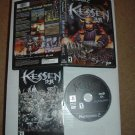 Kessen (PS2) VERY EXCELLENT & COMPLETE IN CASE Battle Tactics RPG game for sale