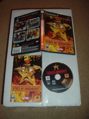 State of Emergency (PS2) COMPLETE in Case game for sale, save $$ with combined shipping
