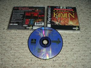 Blood Omen: Legacy of Kain ORIGINAL Black Label Release (PS1) VERY EXCELLENT COMPLETE game for sale