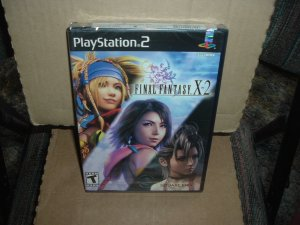 SEALED Final Fantasy X-2 (PS2 10) BRAND NEW Black Label ORIGINAL Release RPG For Sale  RARE