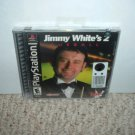 SEALED Jimmy White's 2: Cueball (Sony Playstation PS1, snooker & pool sim) BRAND NEW game For Sale