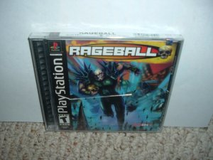 SEALED Rageball (Sony Playstation PS1) BRAND NEW futuristic sport game FOR SALE