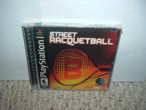 SEALED Street Racquetball (PS1 Sony Playstation) BRAND NEW game For Sale