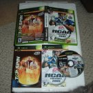 Top Spin & NCAA Football 2005 COMPLETE IN CASE (Microsoft XBox) Game FOR SALE