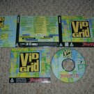 Vid Grid (Atari Jaguar CD) NEAR MINT & COMPLETE IN CASE great music puzzle game For Sale