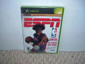 NEW - ESPN NBA 2K5 (Microsoft XBox basketball) BRAND NEW SEALED game For Sale