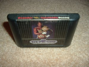 "Evander Holyfield's Boxing (Sega Genesis, Sega Nomad) Holyfield ""Real Deal"" Boxing game For Sale"
