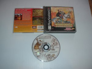 Warhammer: Shadow of the Horned Rat (PS1 Sony Playstation) great Battle Strategy game For Sale