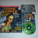 Tomb Raider III 3 (Sony Playstation PS1) COMPLETE Game + OFFICIAL STRATEGY GUIDE for sale