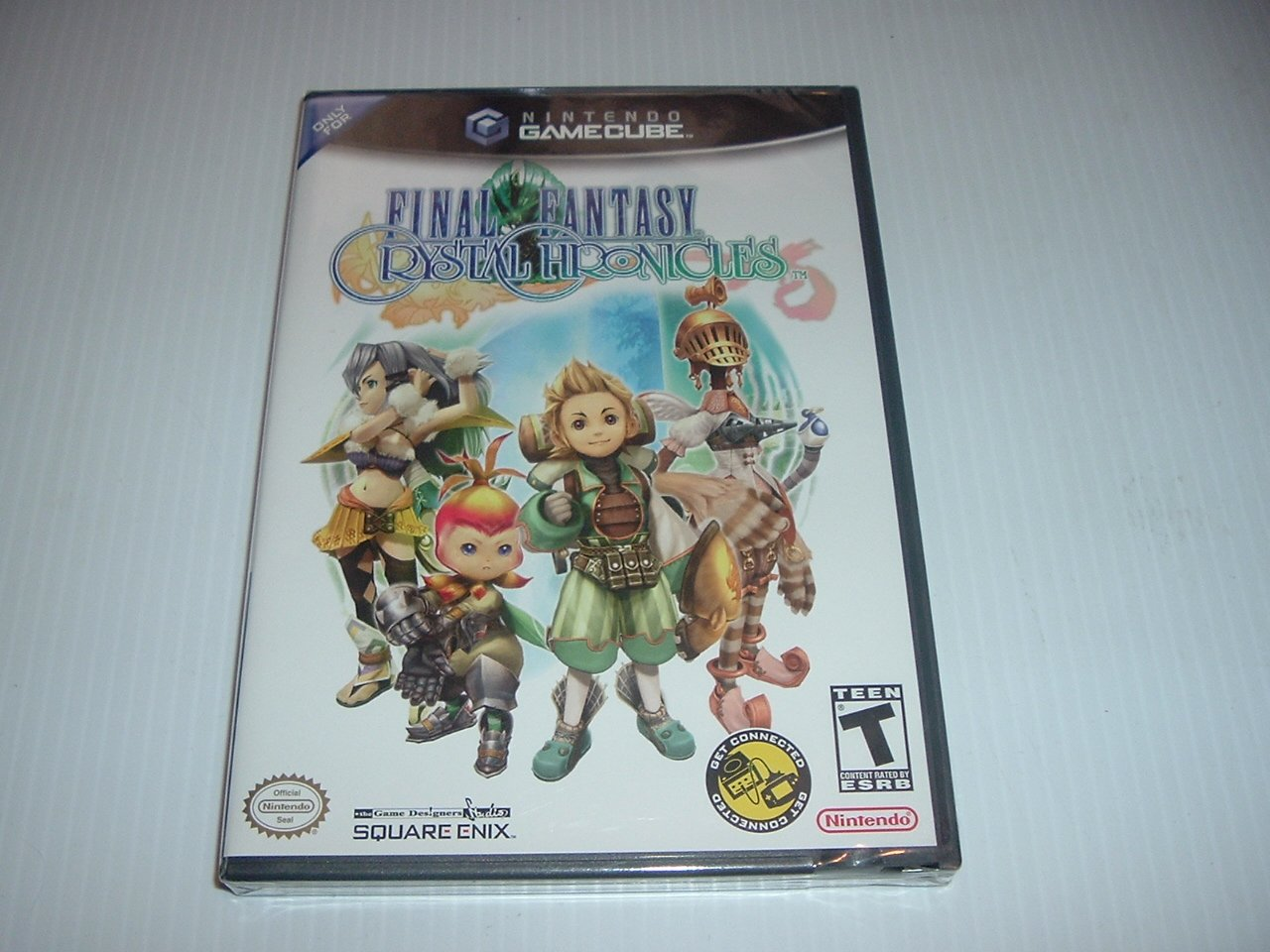 SEALED Final Fantasy: Crystal Chronicles (Gamecube) BRAND NEW great Square Enix RPG game, FOR SALE