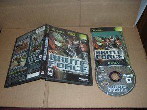 Brute Force (XBOX) EXCELLENT & COMPLETE IN CASE, great microsoft game FOR SALE