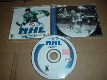NHL 2001 MINT & COMPLETE IN CASE (PC, EA Sports) great hockey game FOR SALE