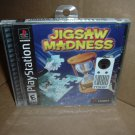 Jigsaw Madness (PS1) BRAND NEW SEALED Black Label Original Release Sony Playstation game FOR SALE
