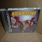 Kickboxing (PS1) BRAND NEW SEALED Black Label Original Sony Playstation kick boxing Game FOR SALE