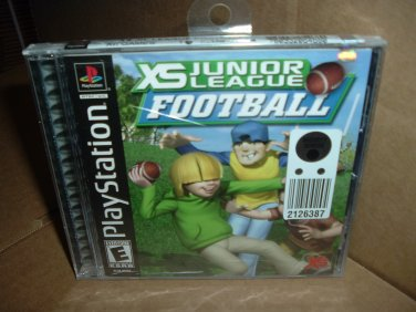 BRAND NEW XS Junior League Football (PS1) FACTORY SEALED sony playstation fun game FOR SALE