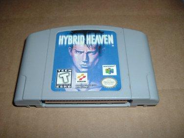 Hybrid Heaven RPG (Nintendo 64, N64) Role Playing/Arcade