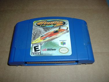 Hydro Thunder RARE (Nintendo 64, N64) Speed Boat Racing, used to sell for over $50, game FOR SALE
