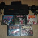 Turbo Grafx 16 System with 5 CASED TurboGrafx Games, 1 controller & Power Supply FOR SALE