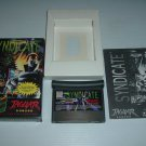 Syndicate (Atari Jaguar) NEAR MINT/XLNT & COMPLETE IN BOX + BONUS, great rare game For Sale