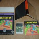 Cratermaze VERY EXCELLENT & COMPLETE IN BIG BOX (TurboGrafx 16) addictive maze game FOR SALE