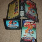 RARE Sonic the Hedgehog 2 White Strip NOT FOR RESALE edition COMPLETE IN CASE (genesis) FOR SALE
