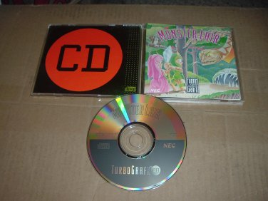 Monster Lair MINT- & COMPLETE IN CASE (Turbo Grafx 16 CD turbografx Turbo Duo) game FOR SALE