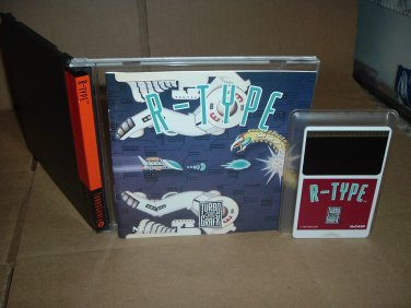 (Free R-Type Complete CD) w/ R-Type NEAR MINT+ & COMPLETE IN CASE Turbo Grafx 16 Duo shmup For Sale