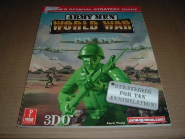 Army Men: World War (PS1) Official Strategy Guide Book for the Sony Playstation game, for sale