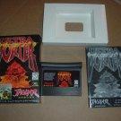 Ultra Vortek NEAR MINT & COMPLETE IN BOX Atari Jaguar game Mortal Kombat-ish +BONUS CODES, for sale