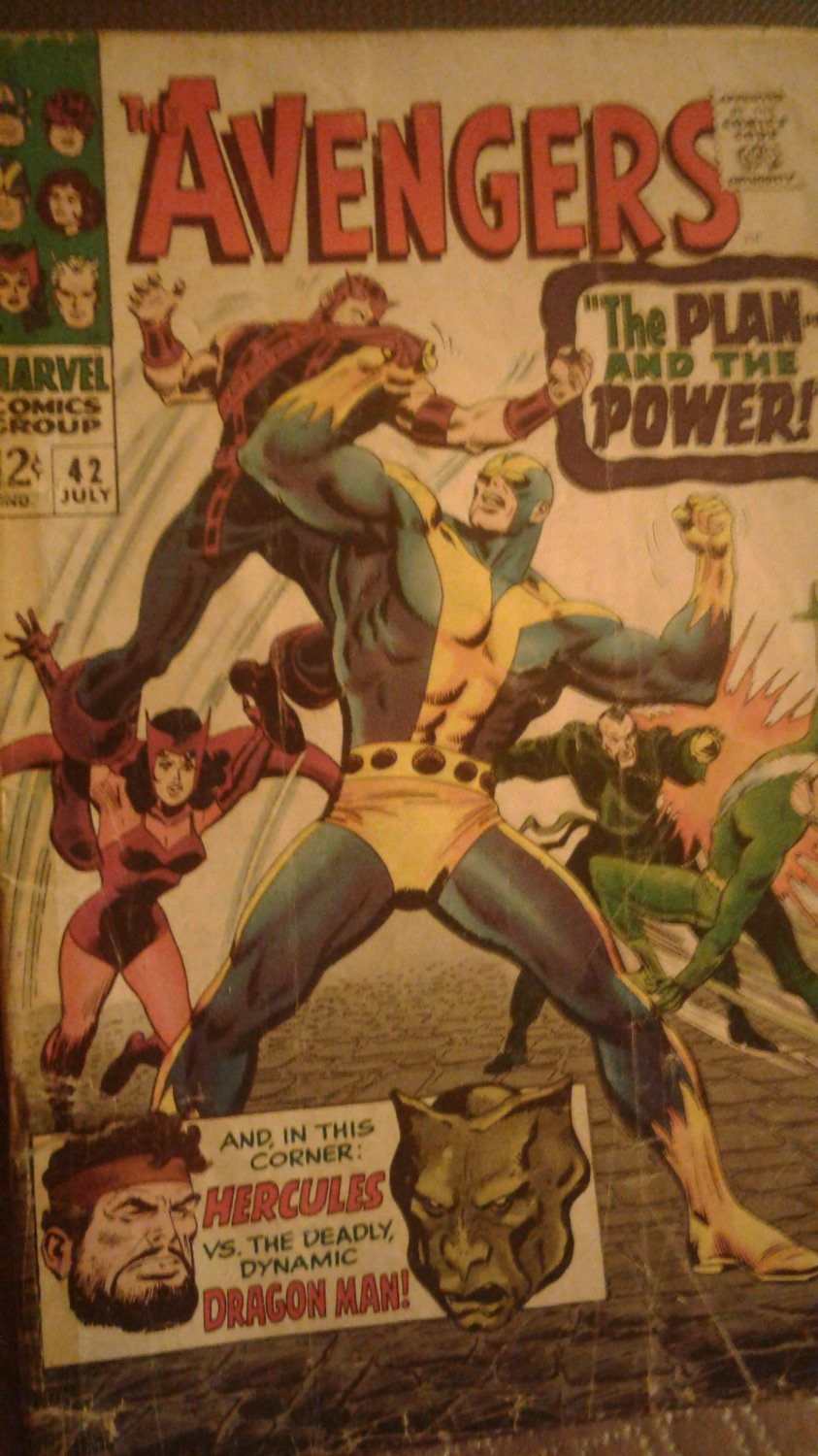 The Avengers - # 42 July 1967 Comic Book