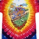 Summer Tour Bus  Grateful Dead Tye Dye M - XL Shirt