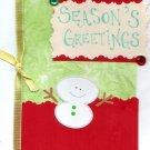 Snowman's Season's Greetings
