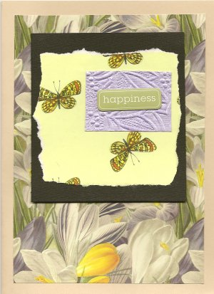 """Happiness"" Greeting Card"
