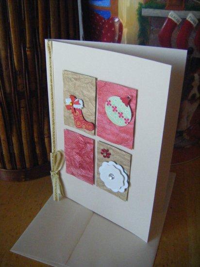 Elegant Holiday Theme Greeting Card