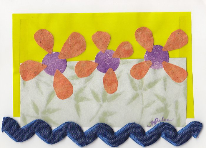 The Power of Flowers - All Occasion Handmade Greeting Card