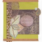 Live in the Moment - Handcrafted Greeting Card