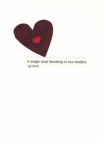 Heart Handmade Valentine's Day Card
