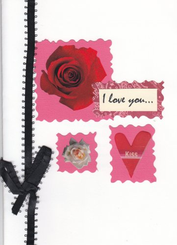 """""""I Love You"""" Handcrafted Valentine's Day Card"""