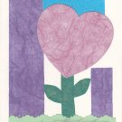 """From the Heart"" Handcrafted Valentine's Card"
