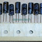 20x 100uF 16v Rubycon ZLH 105C Low-ESR capacitors
