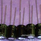 5x 220uF 25v Panasonic FM 105C Low-ESR capacitors