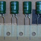 10x 470uF 10v Nippon Chemicon KZE 105C Low-ESR capacitors