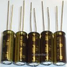 5x 680uF 16v Panasonic FM 105C Low-ESR capacitors