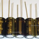 5x 680uF 25v Panasonic FM 105C Low-ESR capacitors