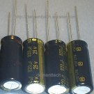 4x 820uF 25v Panasonic FM 105C Low-ESR capacitors